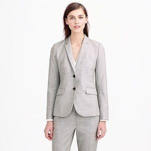J. Crew 1035 Two-Button Jacket In Super 120's Wool